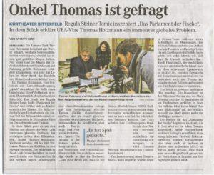 Mitteldeutsche Zeitung, 22. März 2016
