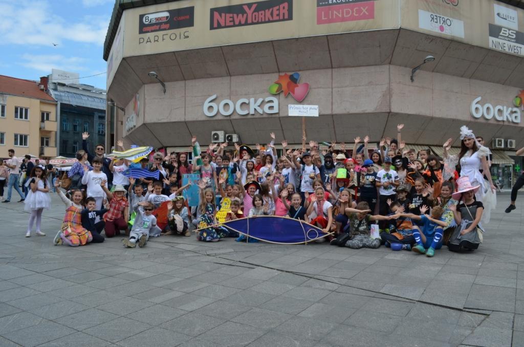 Parade durch Banja Luka