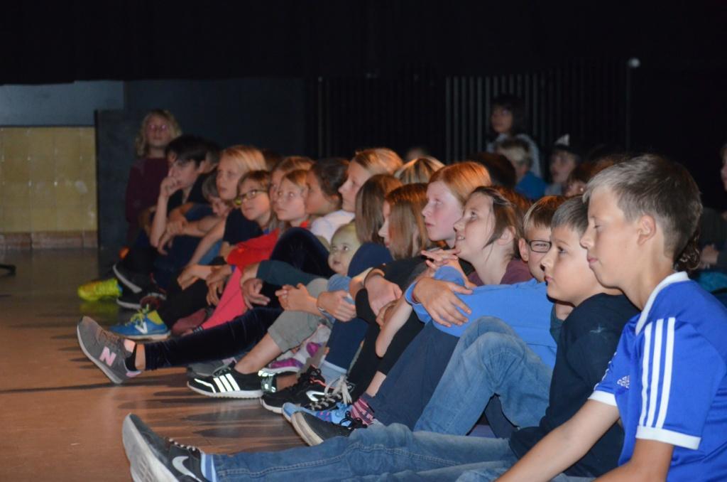 Impression der Theateraufführungen im JugendKulturZentrum Pumpe in Berlin-Mitte