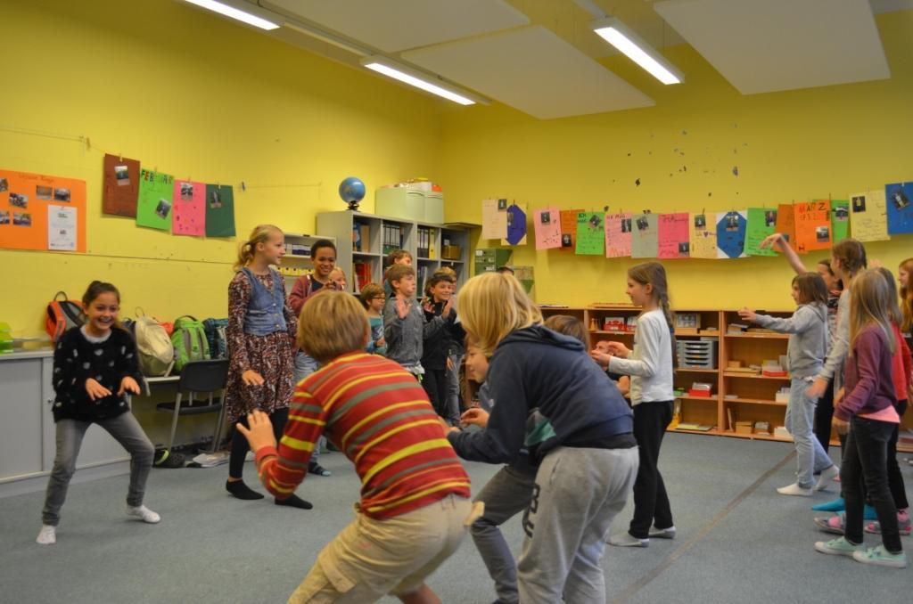 Impressionen des Umwelt-Theater-Workshops in Berlin